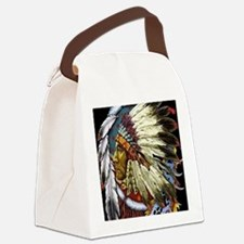CHIEF WHITE CLOUD Canvas Lunch Bag