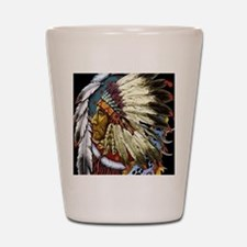 CHIEF WHITE CLOUD Shot Glass