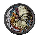 Native american Giant Clocks