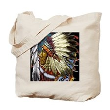CHIEF WHITE CLOUD Tote Bag