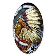 CHIEF WHITE CLOUD Decal