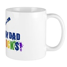 Blue Guitar_Dad Mug