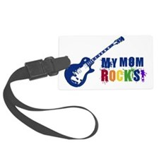 Blue Guitar_Mom Luggage Tag