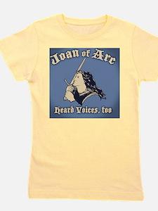 Joan-arc-voices-BUT Girl's Tee