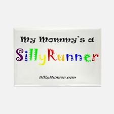 Mommy's a SillyRunner Rectangle Magnet