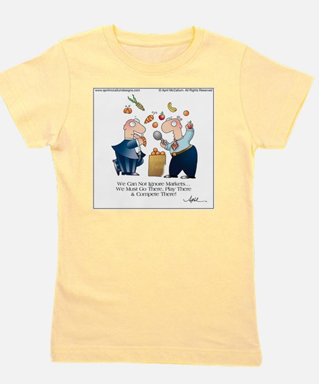 MARKET PLAY by April McCallum Girl's Tee