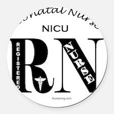nicu-rn-o Round Car Magnet