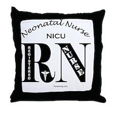 nicu-rn-o Throw Pillow
