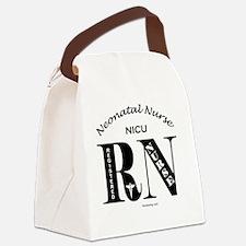 nicu-rn-o Canvas Lunch Bag