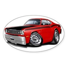 1970-74 Duster 340 Red Car Decal