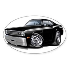 1970-74 Duster 340 Black Car Decal