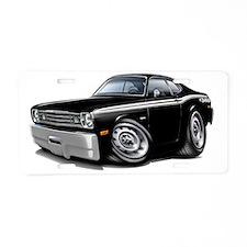 1970-74 Duster 340 Black Ca Aluminum License Plate
