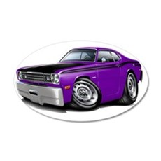 1970-74 Duster 340 Purple-Bl Wall Decal