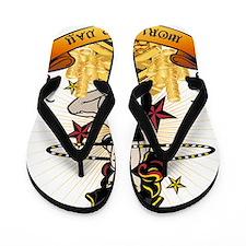 Pirate Hooper BIG Flip Flops