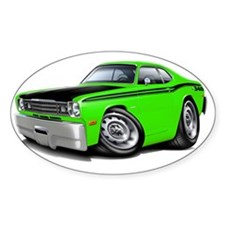 1970-74 Duster 340 Lime-Black Car Decal