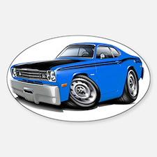 1970-74 Duster 340 Blue-Black Car Decal