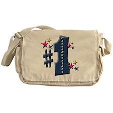 2-number 1 para Messenger Bag