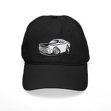 1970-74 Duster 340 White-Black Car Baseball Hat