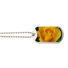 Yellow Rose Full Bloom A Dog Tags