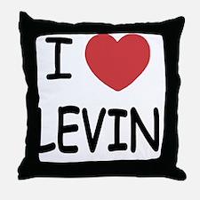 LEVIN01 Throw Pillow