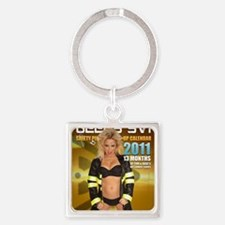 FRONT 2011 Square Keychain