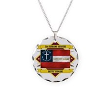 31st Alabama Inf (Flag 5.1) Necklace