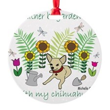 2-ChihuahuaFawn Ornament