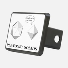 Platonic Solids shirt Hitch Cover