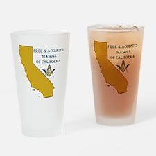 2-CALIFORNIA FAM Drinking Glass