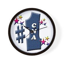 number 1 cna Wall Clock