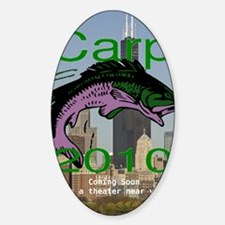 carp_coming_soon_caption Sticker (Oval)