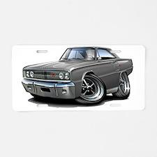 1967 Coronet RT Grey Car Aluminum License Plate