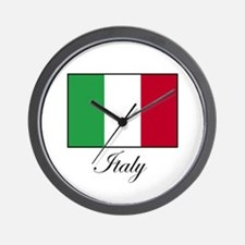 Italy - Italian Flag Wall Clock