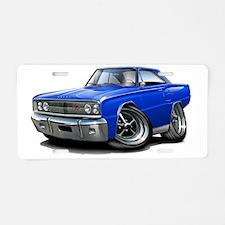 1967 Coronet RT Blue Car Aluminum License Plate