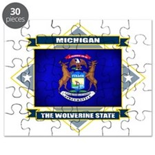 Michigan diamond Puzzle