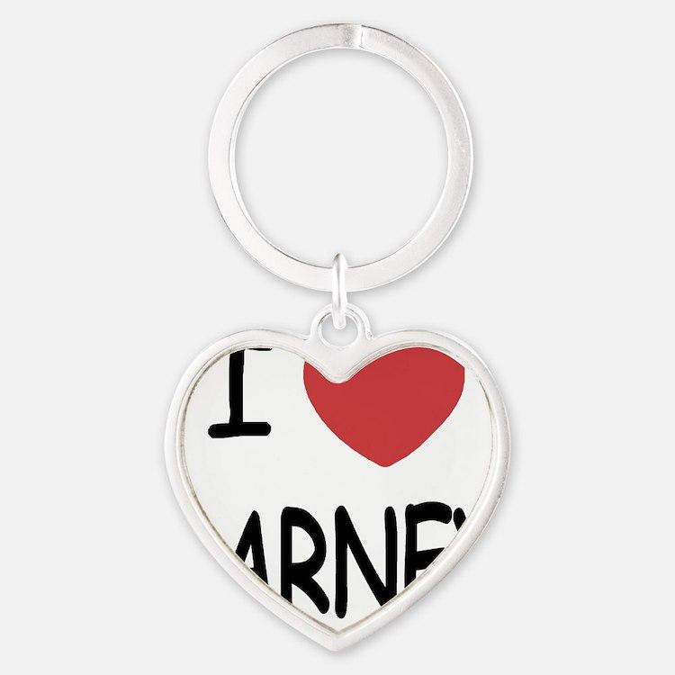 BARNEY01 Heart Keychain