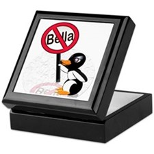 2-bellapenguin Keepsake Box