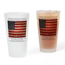 flag-pledge-LTT Drinking Glass