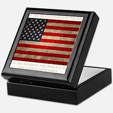 flag-pledge-DKT Keepsake Box