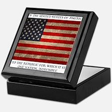 flag-pledge-LTT Keepsake Box