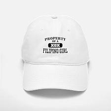 Property of a Filipino Girl Baseball Baseball Cap