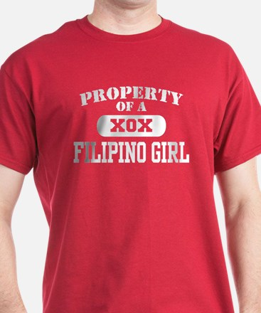Property of a Filipino Girl T-Shirt