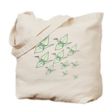 Increasing10x10-Blk Tote Bag