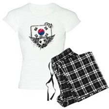Soccer fan South Korea Pajamas