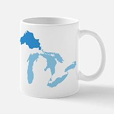 Great_Lakes_With_Lake_Superior_15.35_x_ Mug