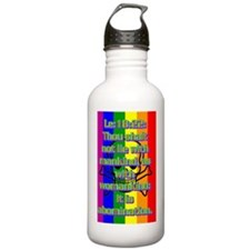 Le18-22(large poster) Water Bottle
