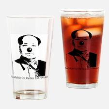 2-maoclownshirt Drinking Glass