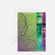 claiming-face-journal Greeting Card