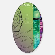 claiming-face-journal Decal