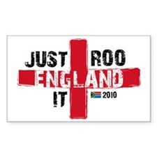 England Shirt Just Roo It Decal